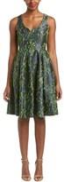 Badgley Mischka Fit & Flare Dress.