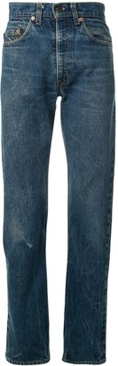 Levi's Fake Alpha X Vintage distressed tapered jeans