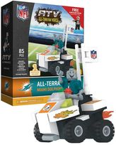 OYO Sports Miami Dolphins Buildable ATV 4-Wheeler with Mascot