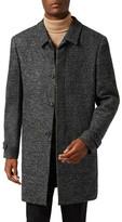 Topman Textured Mac Jacket