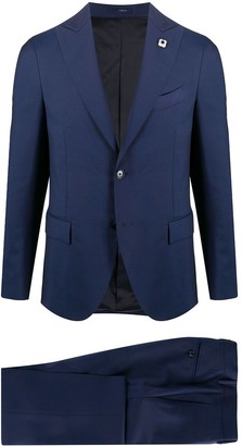 Lardini Fitted Two-Piece Suit