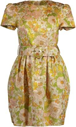 Zimmermann Super Eight Brocade Mini Dress