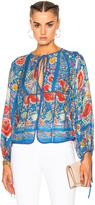 Roberto Cavalli Printed Woven Blouse