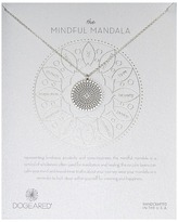 Dogeared Mindful Mandala Center Square Necklace