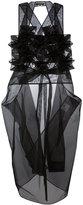 Junya Watanabe Comme Des Garçons - Origami Panel tunic - women - Nylon - S