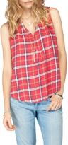 Gentle Fawn Bronco Plaid Top