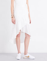 A.L.C. Charmaine asymmetric wrap-front skirt