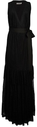 Diane von Furstenberg Rumi Tiered-Ruffle Wrap Dress