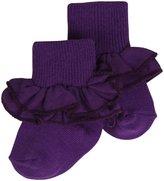 Jefferies Socks Misty Sock (Baby) - Grape-INF