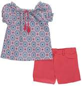 """Girls Luv Pink Big Girls' """"Heart Sprinkled"""" 2-Piece Outfit - , 14-16"""