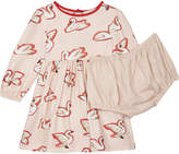 Stella McCartney Fleur swan print dress 6-36 months