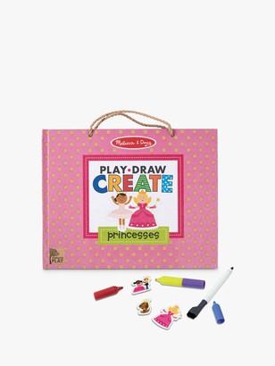 Melissa & Doug Reusable Drawing & Magnet Princess Kit