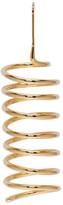 Maison Margiela Gold Spiral Earring