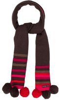 Catimini Girls' Striped Knit Scarf w/ Tags