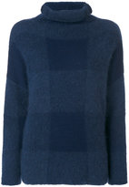 Cédric Charlier checked jumper - women - Polyamide/Cashmere/Mohair/Virgin Wool - 42