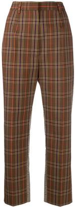 MM6 MAISON MARGIELA Contrast Panel Check Trousers