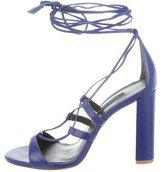 Ruthie Davis Jane Lace-Up Sandals