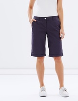 Dorothy Perkins Poplin Knee Shorts