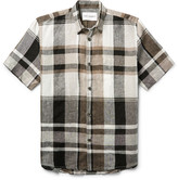 Our Legacy - Checked Linen Shirt