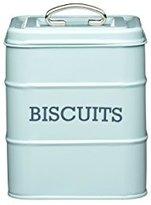 "Kitchen Craft Living Nostalgia"" Biscuit Tin, Light Blue, 14.5 x 19 cm"