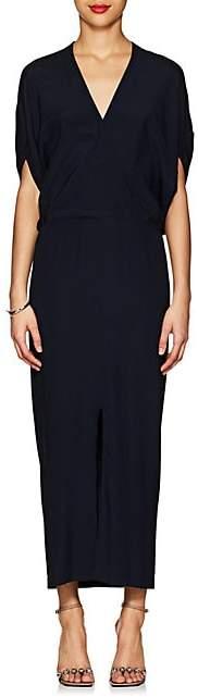 Zero Maria Cornejo Women's Aki Stretch-Silk Dress - Navy