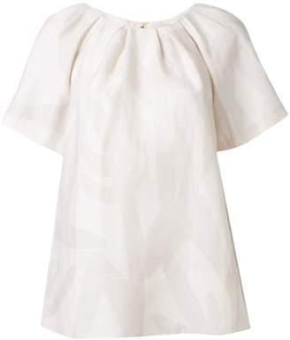 Lee Mathews Alexa abstract print blouse