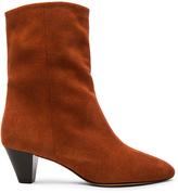 Etoile Isabel Marant Dyna New Velvet Booties