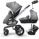 Silver Cross Surf 3 Graphite Complete Travel System and Simplifix Base