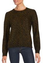 A.L.C. Houston Chain-Link Long-Sleeve Sweater