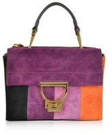 Coccinelle Women's Multicolor Suede Handbag.