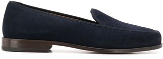 Stubbs & Wootton Lux plain loafers