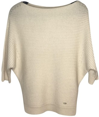 Christian Dior White Cashmere Knitwear for Women