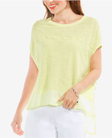 Vince Camuto TWO by High-Low Contrast Top