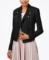 Rachel Roy Zipper-Pocket Moto Jacket, Only at Macy's