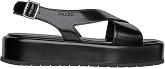 Prada Platform Open Sandals
