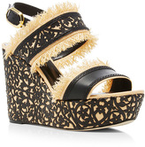 Oscar de la Renta Talitha Wedge Sandals