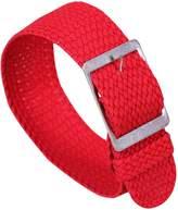 AUTULET Deluxe Premium Nato Style Delicate Exotic Nylon Men's Wrist Watch Band Strap Braiding