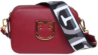 Furla Shoulder Strap In Leather Bordeaux Color