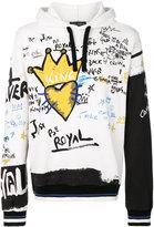 Dolce & Gabbana King print hoodie