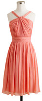 J.Crew Sinclair dress in silk chiffon