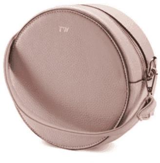 ThreeSixFive Blush pink circle bag