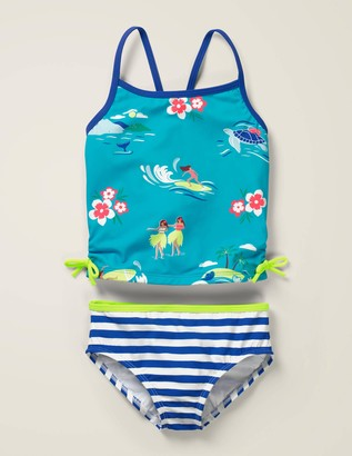 Ruched Tankini Set