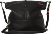 Rusty Peach Pit Handbag Black