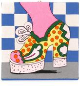 Olympia Le-Tan psychedelic platform clutch
