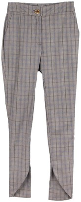Fanfare Label Ethically Made, Check Skinny Suit Trouser