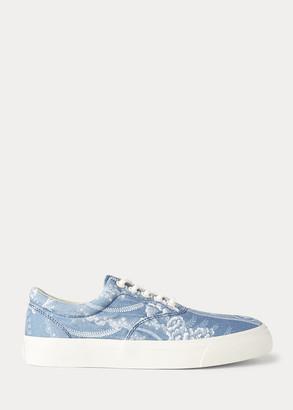 Ralph Lauren Bryn Floral Canvas Sneaker