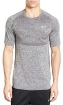 Nike Slim Fit Knit Trim Dri-FIT Running T-Shirt