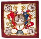 Hermes Napoleon Jacquard Scarf