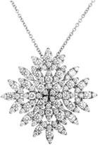 Pasquale Bruni Ghirlanda 18K White Gold Diamond Pendant Necklace