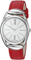 Gucci Women's YA140501 Analog Display Swiss Quartz Watch